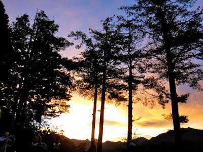 Alishan Sun Rise View Taiwan