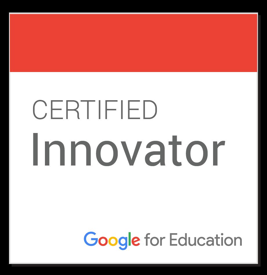 Minhas certificações do Google for Education
