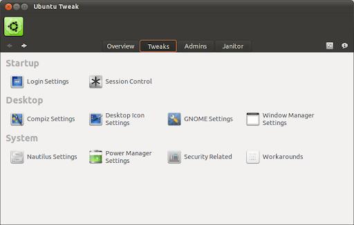 Ubuntu Tweak for 11.10