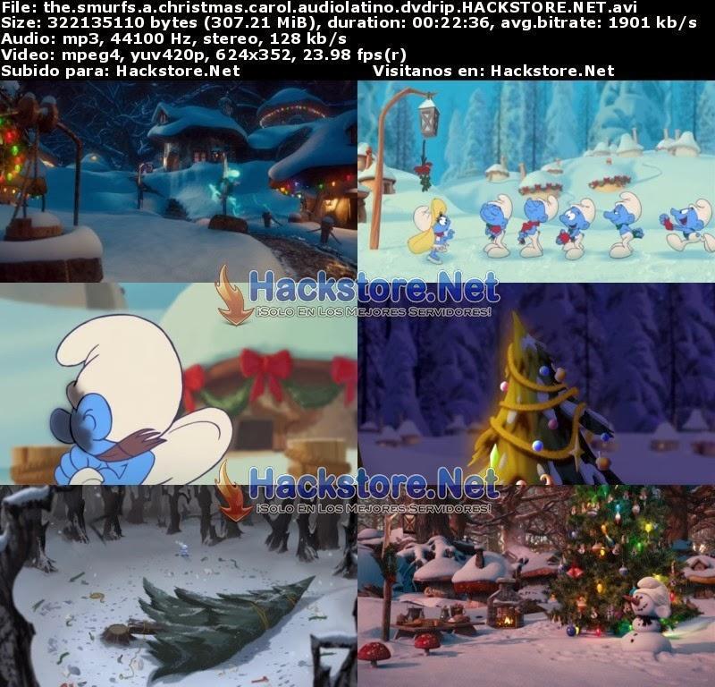 Captura Los Pitufos: Cuento de Navidad (2011) DVDRip Latino