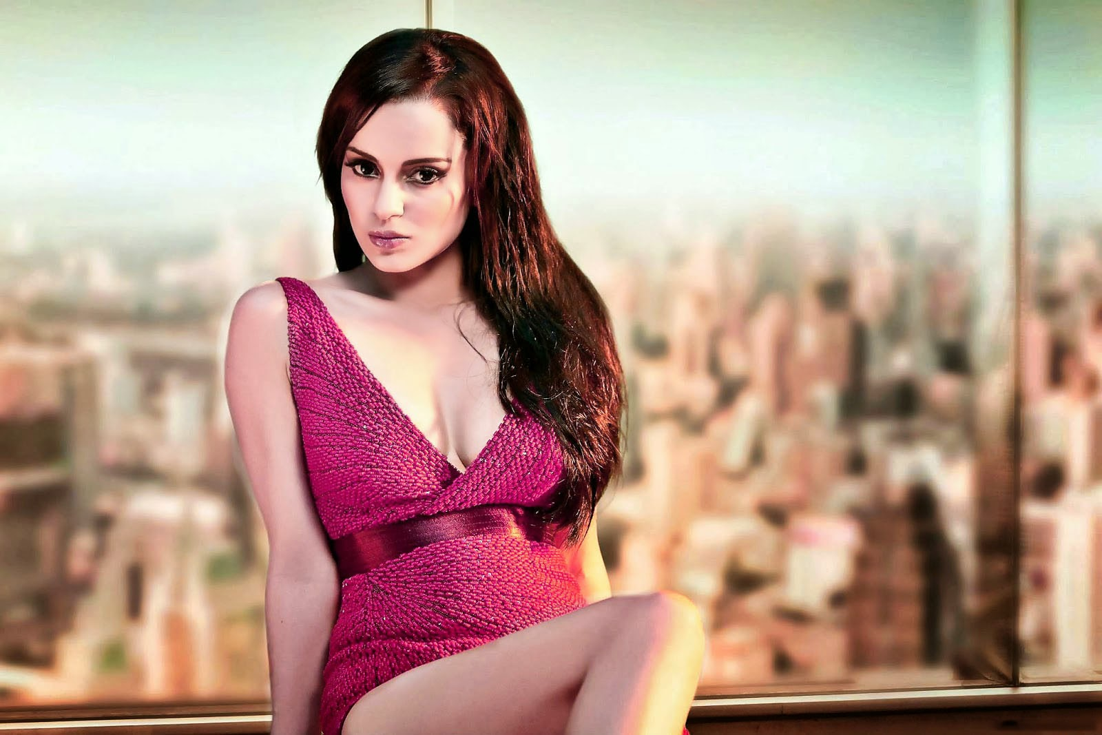 Kangana ranaut hot hd wallpaper in krrish 3 film free