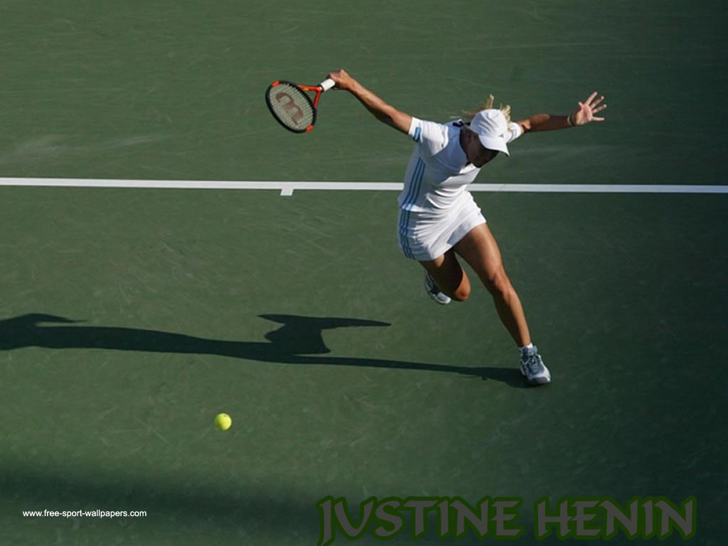 JUSTINE HENIN The Most ARTISTIC Tennis Legend The different