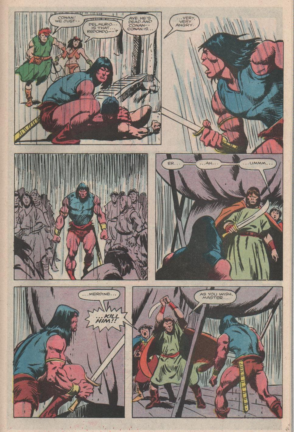 Conan the Barbarian (1970) Issue #176 #188 - English 20