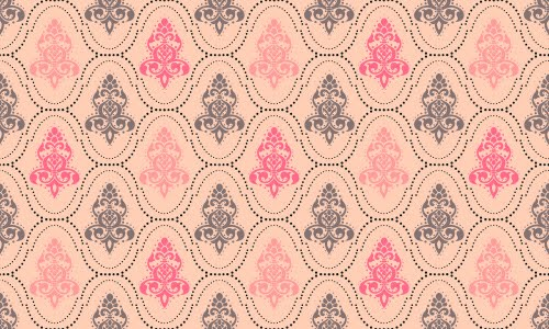 wallpaper pattern vintage pink