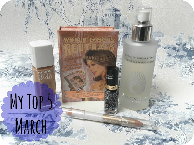 A picture of March Favourites