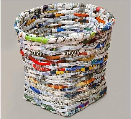 http://berbagiilmututorial.blogspot.com/-Cara Membuat Keranjang Dari Kertas Koran Bekas