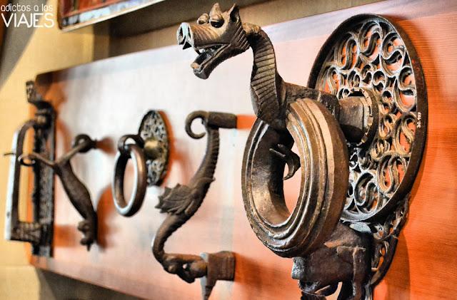 Colección hierros forjados de Rusiñol, Cau Ferrat
