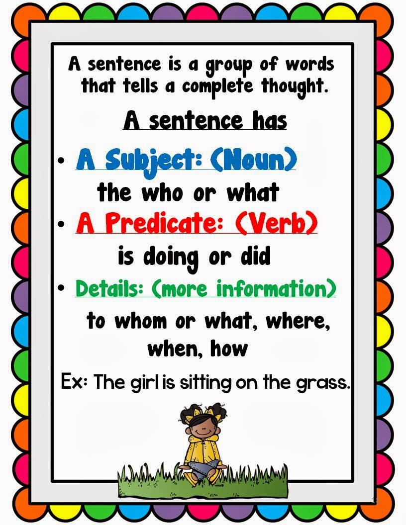 The Sentence - Lessons - Tes Teach