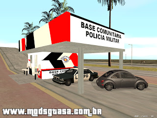 Base Comunitária PMESP para grand theft auto