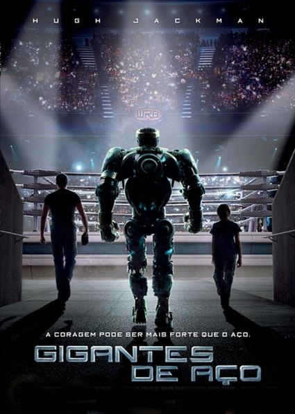 Filme Gigantes De Aço Dublado AVI BDRip