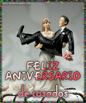 Feliz aniversario de casados