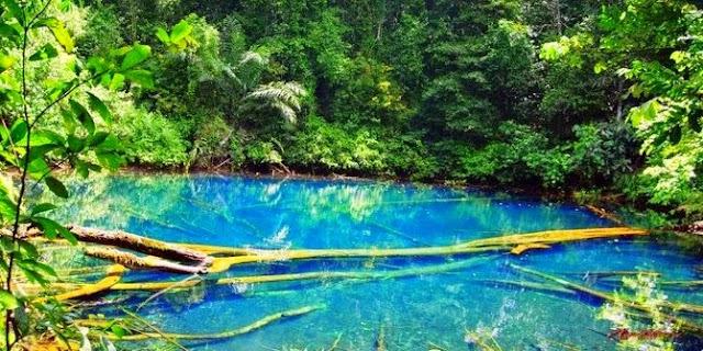 Wisata Danau Labuan Cermin Berau