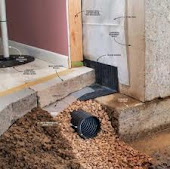 Grey County Interior Basement Weeping Tile Drainage System Installation Grey County 1-800-NO-LEAKS