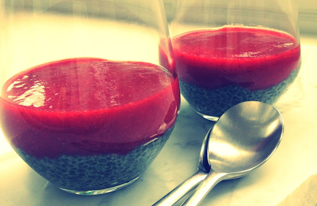Strawberry Chia Pudding with Genuine Health Whole Body Nutrition