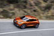 Renault Captur dégage une forte .