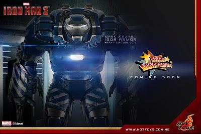 "Hot Toys 1/6 Scale Iron Man 3 - Mark XXXVIII ""Igor"" Armor MMS Figure"