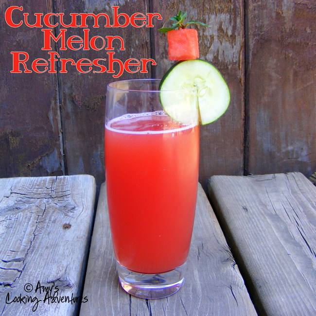 Cucumber-Melon Refresher