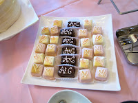 personalized bridal shower desserts