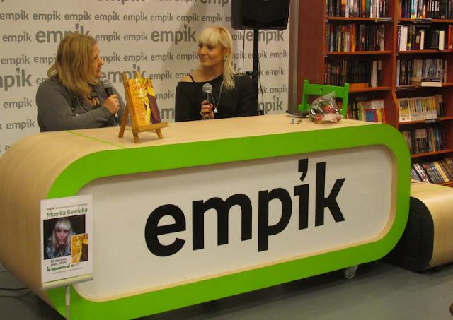 Spotkanie z Moniką Sawicką w łódzkim Empiku