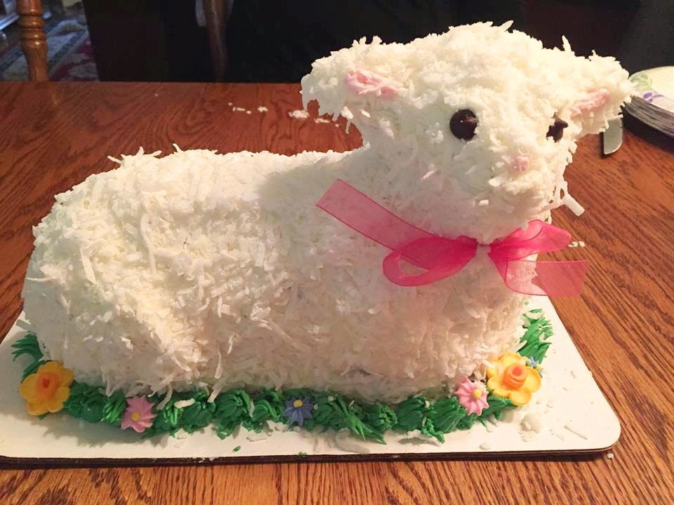 It's not Easter without lamb cake