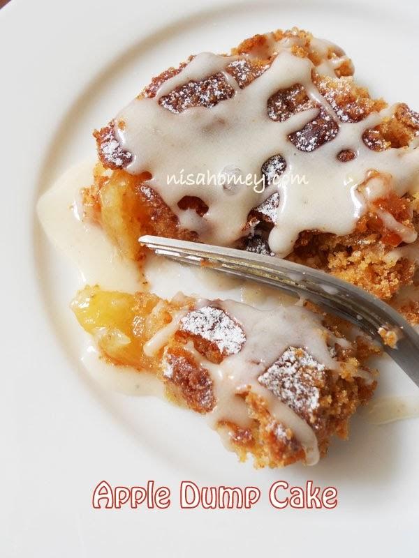 Apple Dump Cake Cooking Is Easy