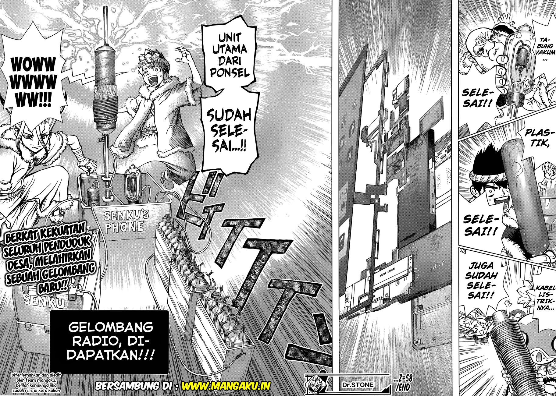 Dr. Stone Chapter 58-18
