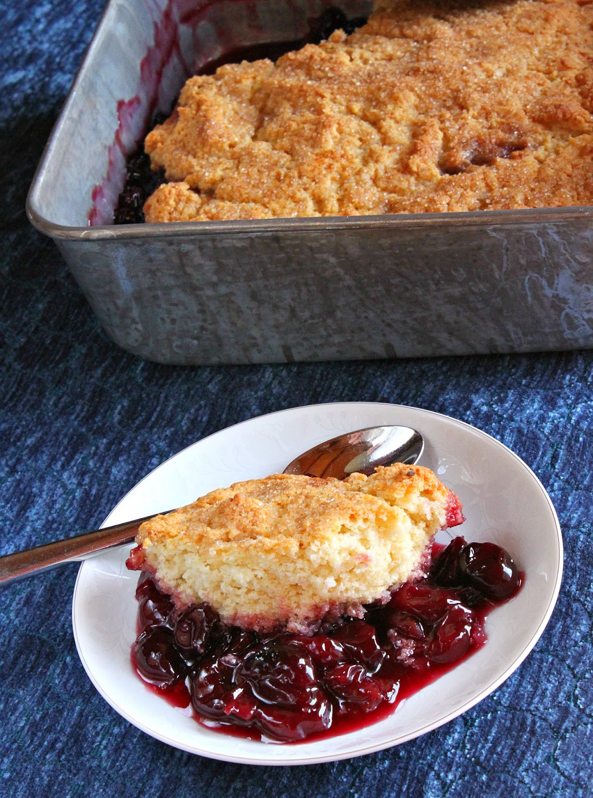 Fresh Cherry Cobbler Recipe — Dishmaps