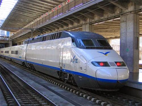 Conoce España en el Tren Ave
