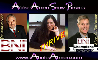 Dri. Ivan Misner Featured on The Annie Armen Show | AnnieArmen.com