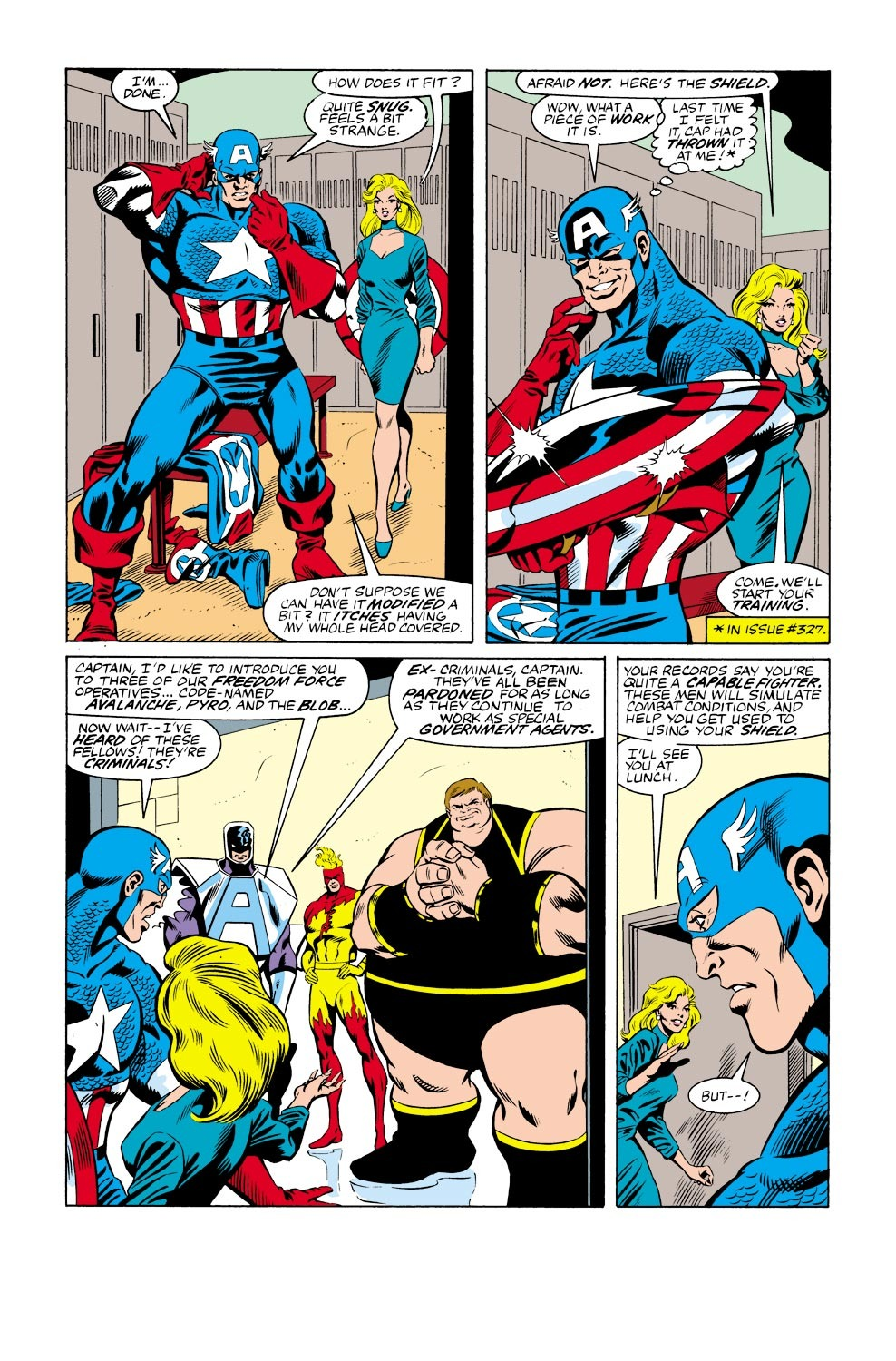 Captain America (1968) Issue #333 #262 - English 18