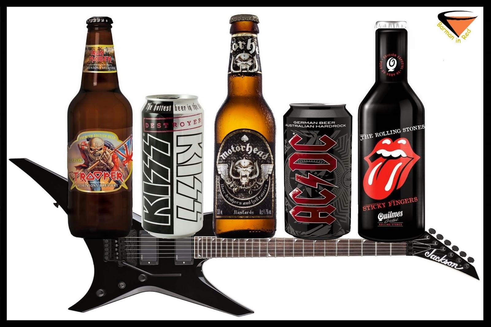 cervezas y rock and roll