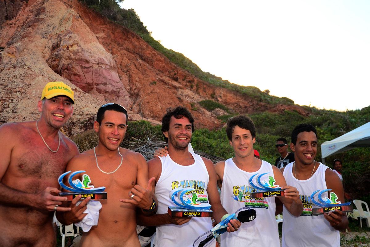 Praia De Tambaba Sedia Edi O Do Open Surf Naturista