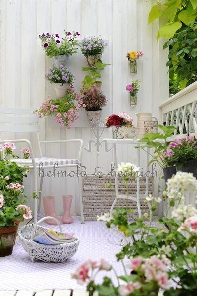 El calder ideas de decoraci n balcones que se convierten for Jardines en balcones pequenos