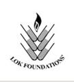 Lok Puram Public School Thane Logo