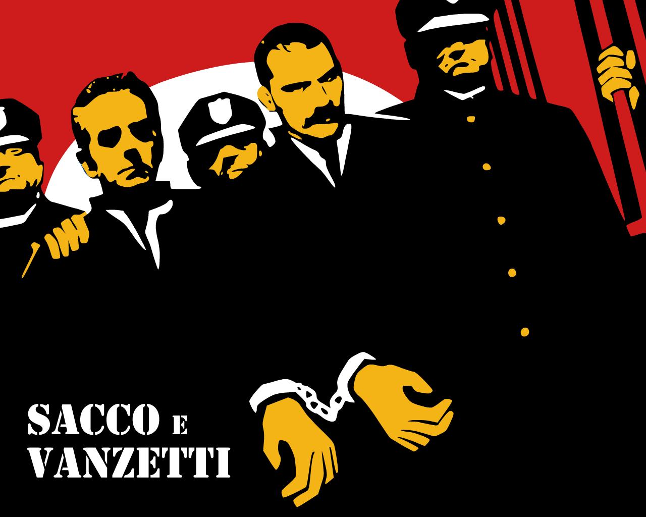 """""""Pero tú, habla por esos a los que nadie escucha..."""" Los anarquistas Nicola Sacco y Bartolomeo Vanzetti apresados por la policía"""