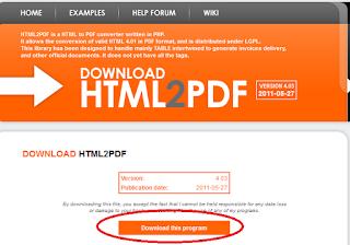 1 - Tutorial Menggunakan HTML2PDF