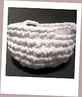 Cesta Crochet Trapillo - ChikiPol