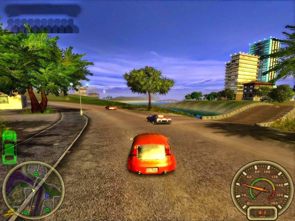 City racing Game Free Download