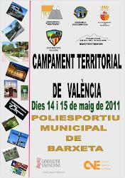 CAMPAMENT TERRITORIAL DE VALÈNCIA 2011