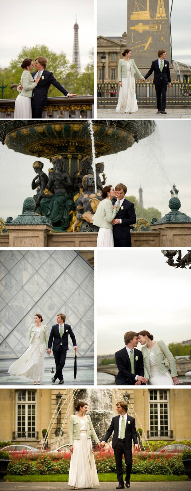 A Parisian honeymoon shoot by WeddingLight