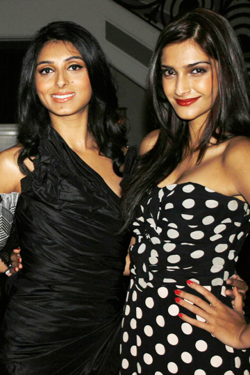 Sonam Kapoor and Prernia Qureshi
