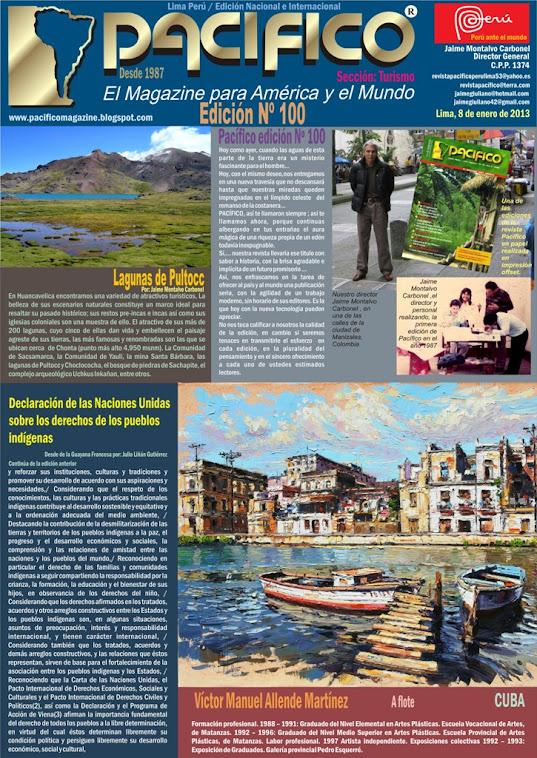 Revista Pacífico Nº 100 Turismo