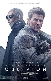 Oblivion, Tom Cruise, movie poster