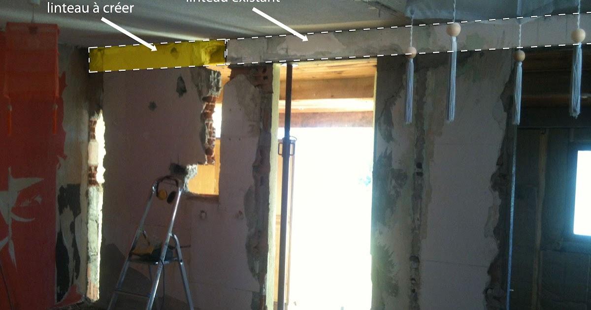 R novation de ma maison casser un mur porteur 2 for Casser mur non porteur