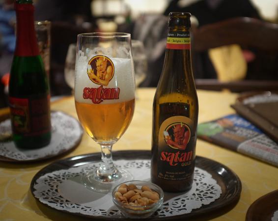 Бельгийское пиво Satan Gold
