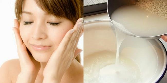 Image result for Manfaat Air Cucian Beras dan Tajin untuk Kecantikan untuk melembutkan kulit