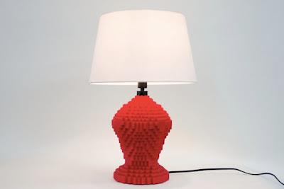 Lego lamp - Jung Ah Kim