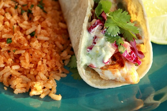 Storehouse crafts recipes spicy fish tacos and for Spicy fish tacos