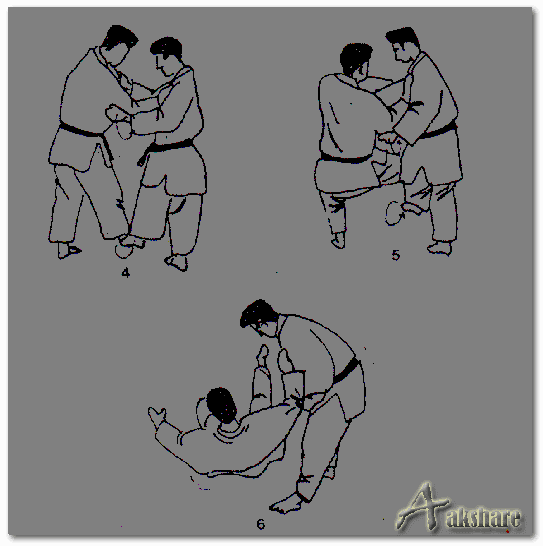Teknik Dasar Bantingan Deashi-Harai - Beladiri Judo