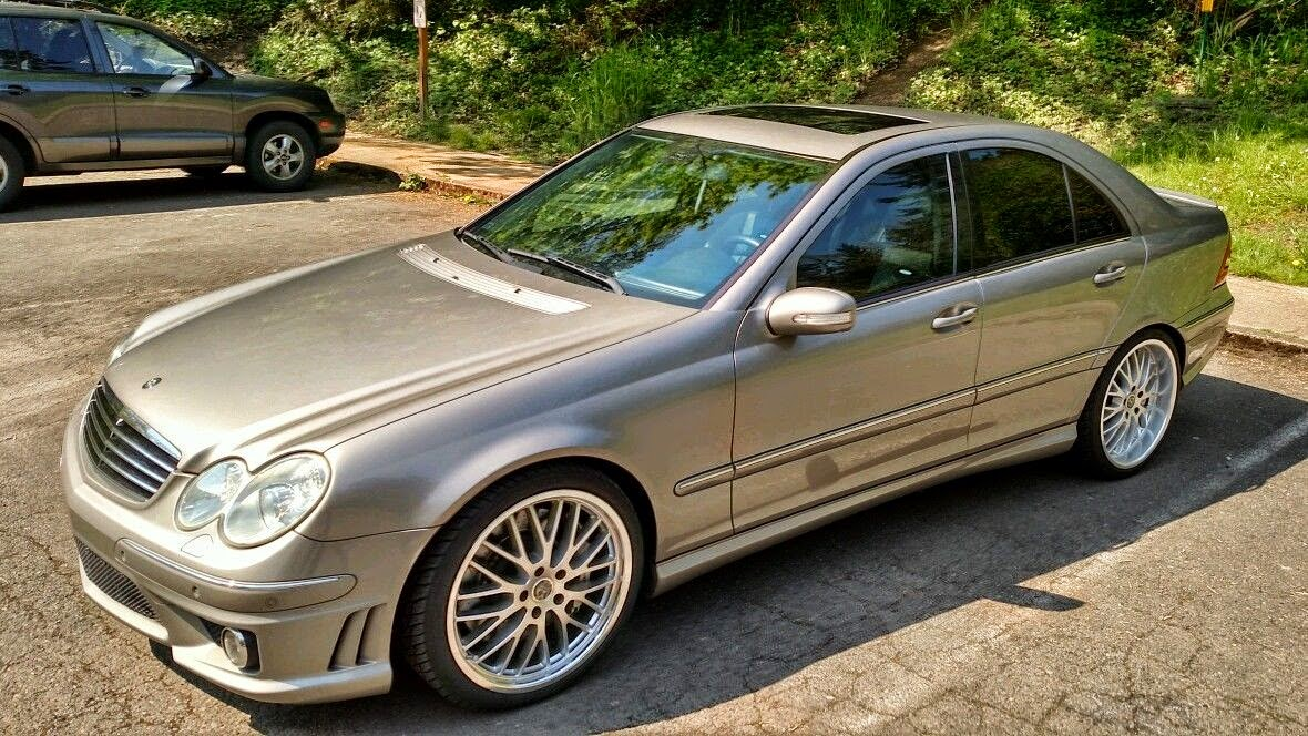 mercedes benz w203 c55 amg benztuning. Black Bedroom Furniture Sets. Home Design Ideas